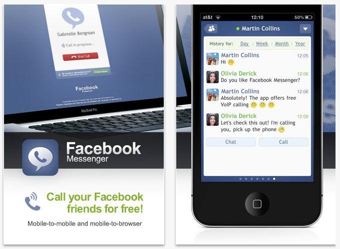 Facebook lanza llamadas gratis para los usuarios de iPhone en los EE.UU.