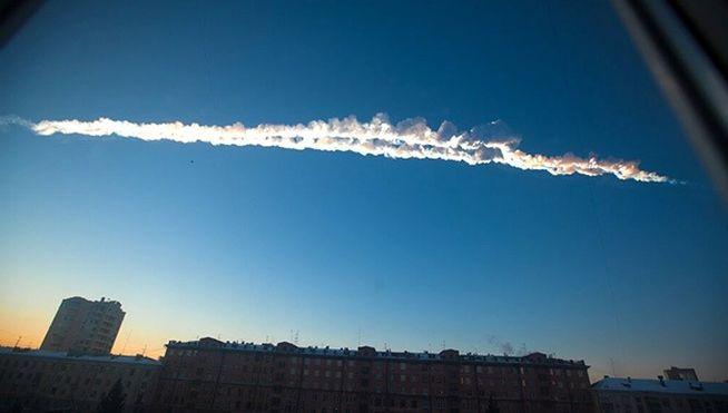 Vídeo meteorito cae en Rusia
