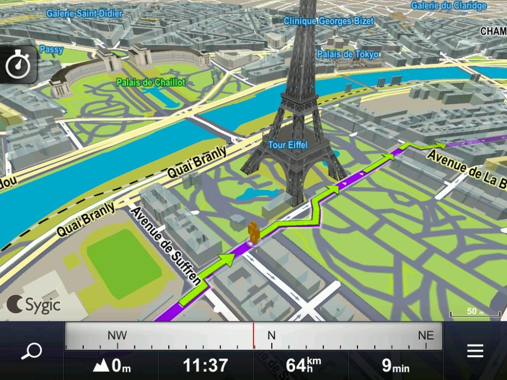 Sygic, GPS para móvil offline. (3/4)