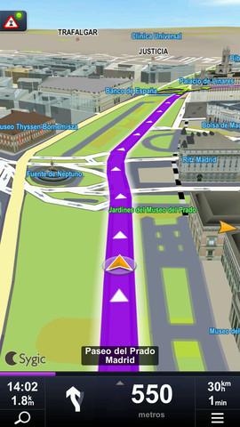 Sygic, GPS para móvil offline. (2/4)