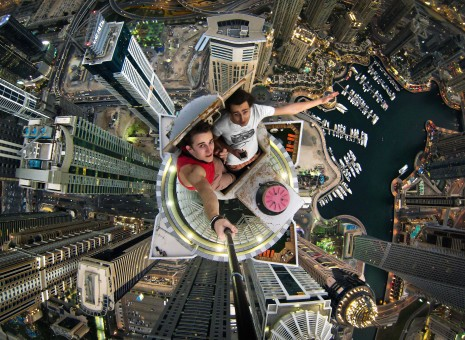 Dubai Daredevil Selfie